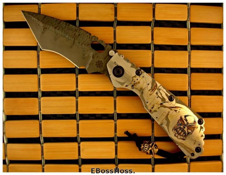 Mick Strider Custom (MSC) Starlingear All-Titanium XL SnG