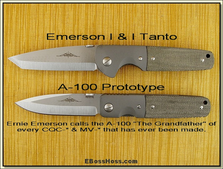 Ernie Emerson Customs ID-ed