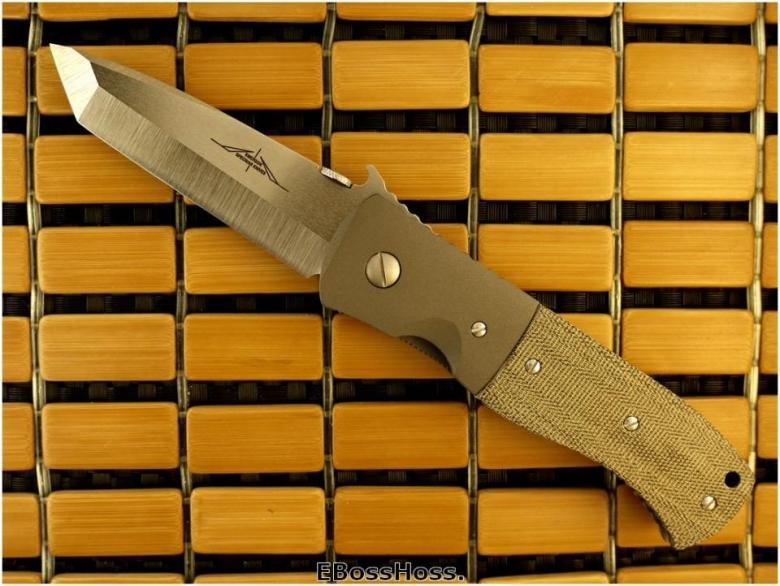 Ernie Emerson Custom Super CQC-7 Waved