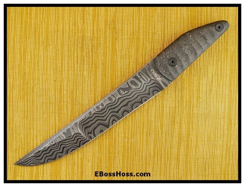 Mick Strider MSC Short-Handle Long Knife