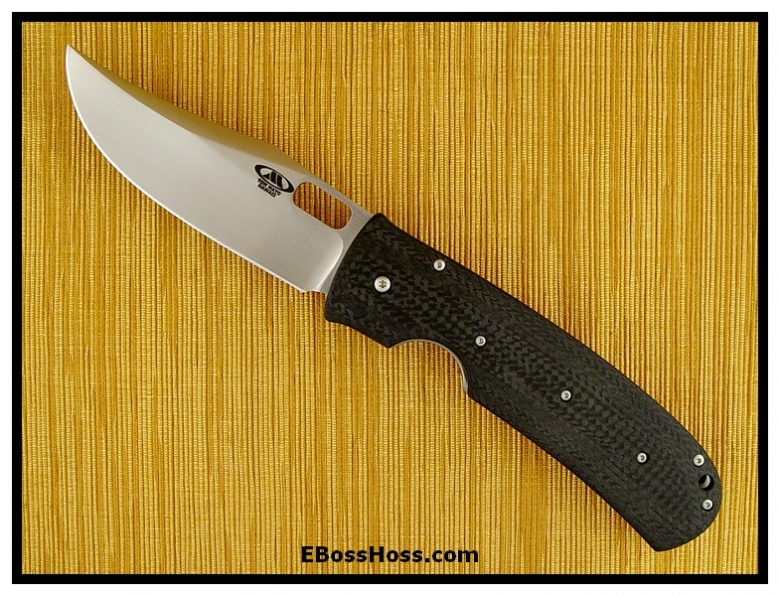 Tom Mayo 25th Anniversary-like Dual Carbon-Fiber LINERLOCK