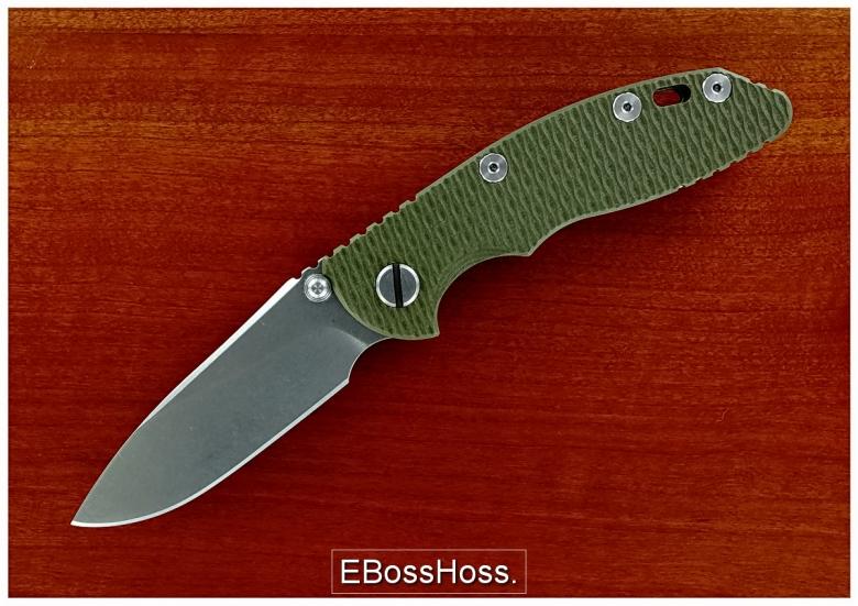 Rick Hinderer XM-18 Slicer-grind