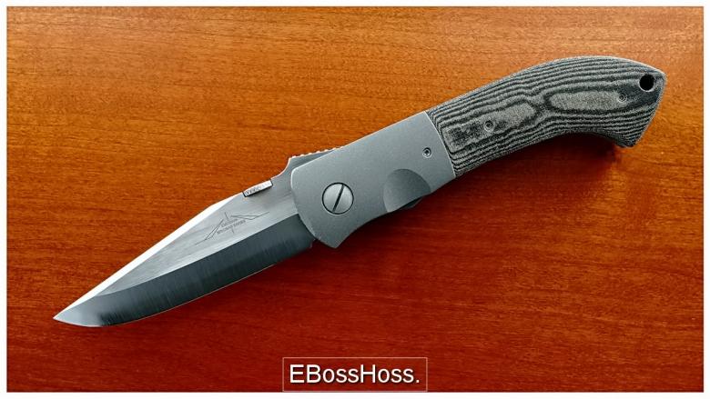 Ernest Emerson Custom Garage Threaded Bolster MV-5