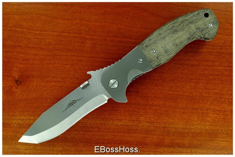 Ernie Emerson CQC-15 Prototype