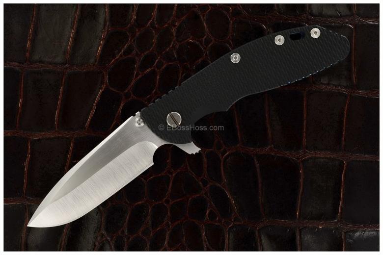 Rick Hinderer Custom XM-24 Spearpoint Flipper