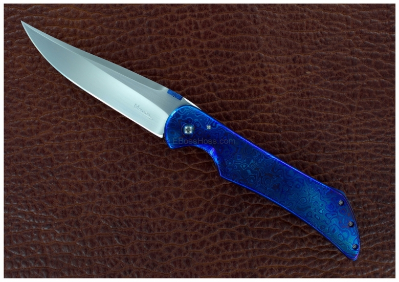 Sal Manaro Timascus Custom Stingray Flipper