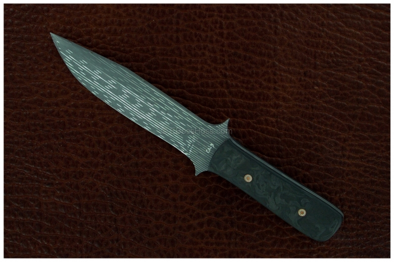 Duane Dwyer (Strider Knives) Custom Officer's Fighter