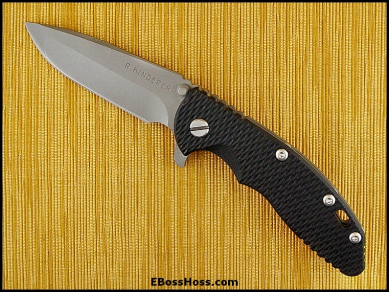 Rick Hinderer XM-18 Flipper
