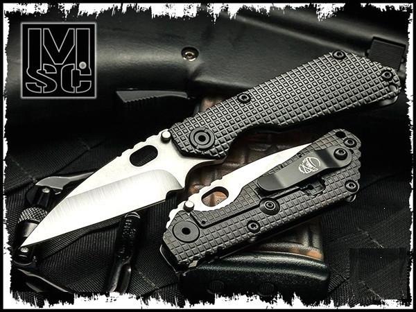 Mick Strider Custom Nightmare SnG Wharnie w/Black Titanium Frag Handles