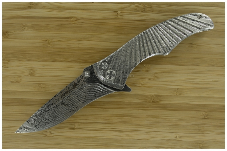 Brian Tighe / Wilson Tactical Damasteel Deluxe Starfighter