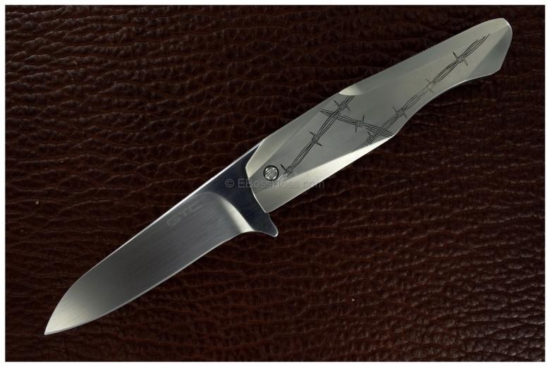 Gustavo Cecchini (GTC Knives) Integral Flipper