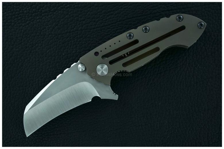 DIREWARE Custom Knives Solo V4 Wharnie Flipper