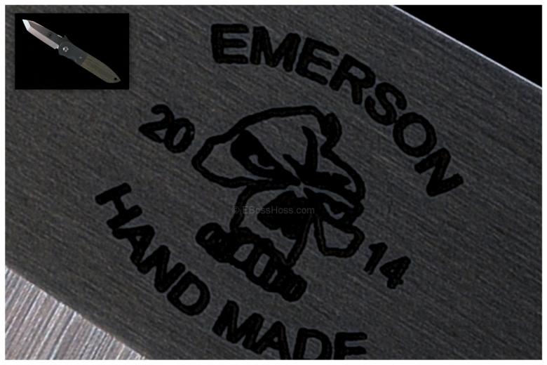 Ernie Emerson Custom CQC-6 w/ New Emerson Logo