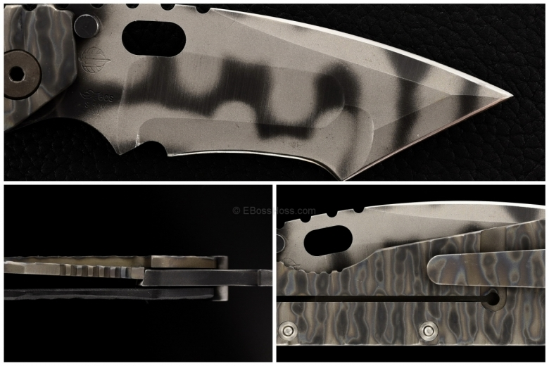 Mick Strider Custom Big Belly Wicked Tanto XL SnG