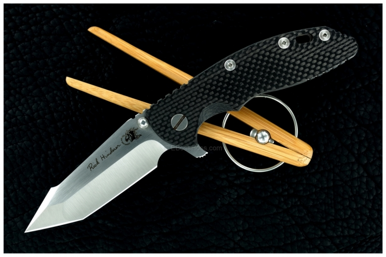 Rick Hinderer Custom Harpoon-Tanto XM-18 Flipper