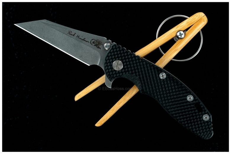 Rick Hinderer Custom Gen 4 Wharncliffe XM-18 Flipper