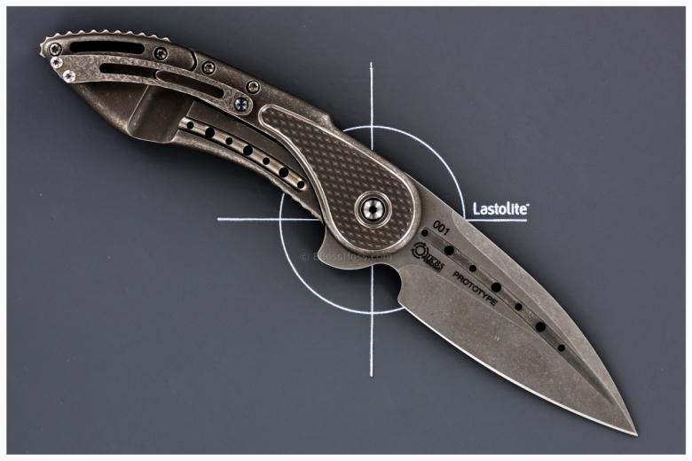 Todd Begg Custom Glimpse 5.5 Flipper Prototype