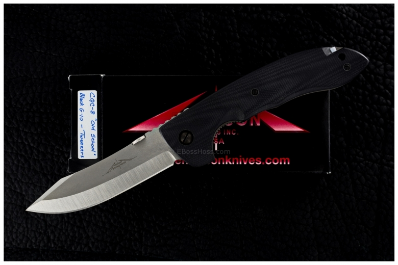 Ernie Emerson Custom Sculpted-G10 CQC-8 w/Tweezer