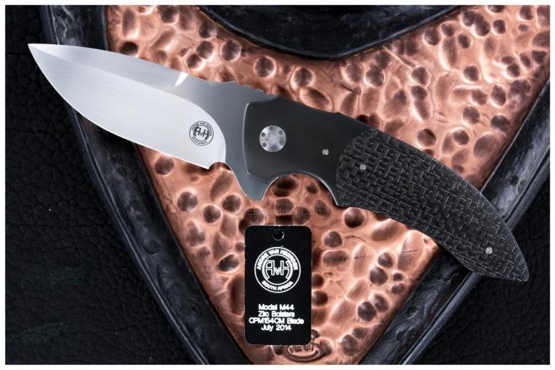Andre van Heerden / Tashi Bharucha Custom Deluxe M44 Collab Flipper