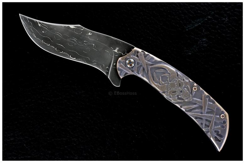 Jody Muller Custom Carved Flipper