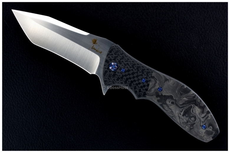 Kirby Lambert Deluxe Modified Tanto Recurve Snap Flipper