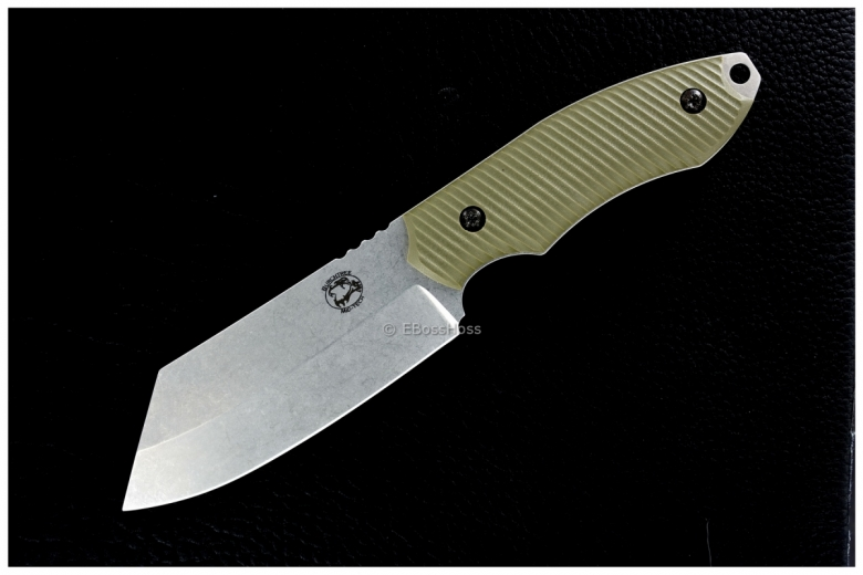 Michael Burch Mid-Tech Dao Fixed Blade