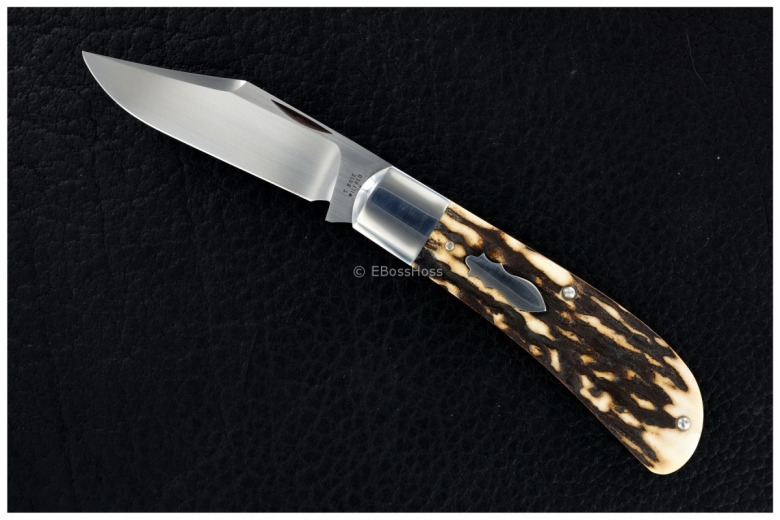 Tony Bose Stag Lanny's Clip Slip Joint Folder