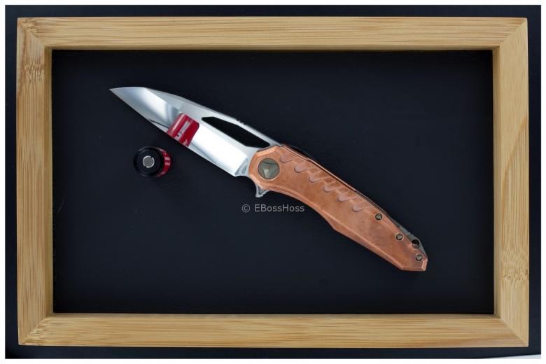 Tony Marfione / Deryk Munroe Custom Collab Copper Sigil Flipper