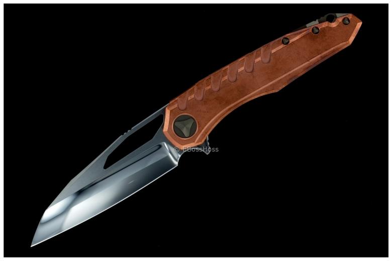 Deryk Munroe / Tony Marfione Custom Collab Copper Sigil Flipper