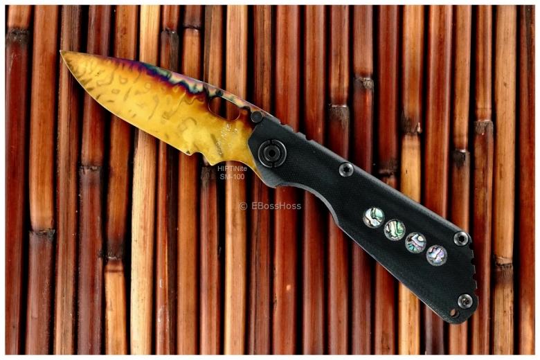 Duane Dwyer Custom (Strider Knives) Deluxe SnG