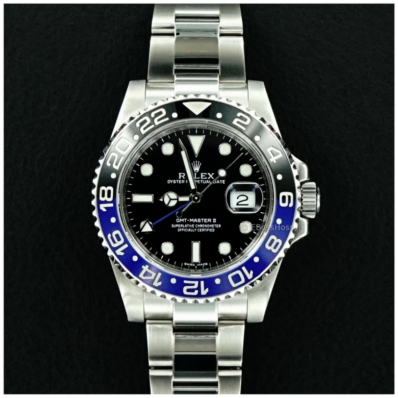 Rolex GMT Master II 116710 BLNR - ''Batman''