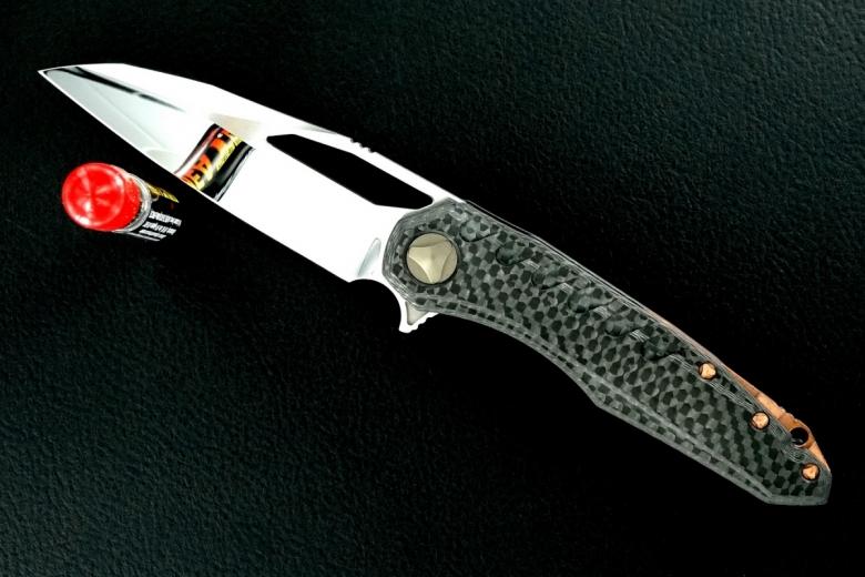 Deryk Munroe / Tony Marfione Custom Collab Sigil Flipper