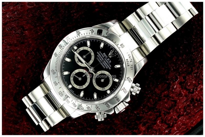 Rolex SS Cosmograph Daytona - Ref 116520