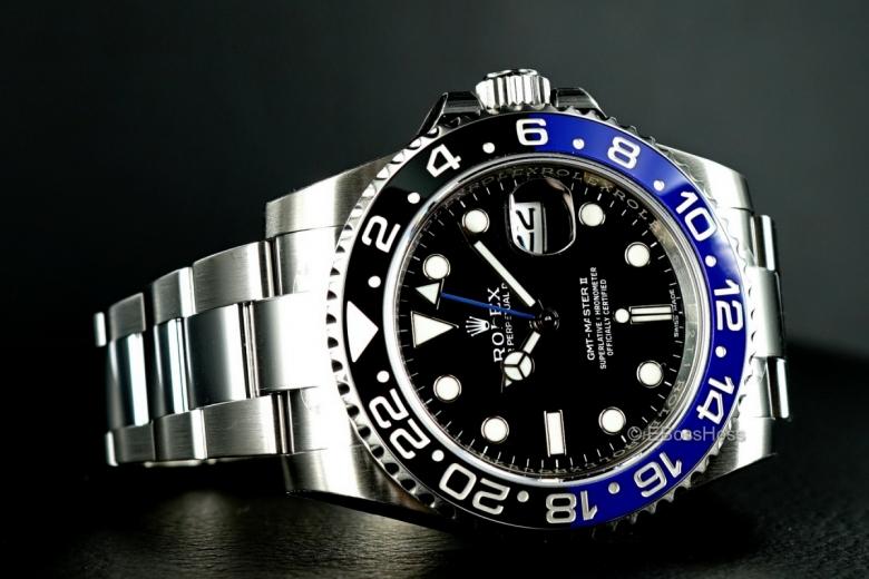 Rolex GMT Master II 116710 BLNR - Batman