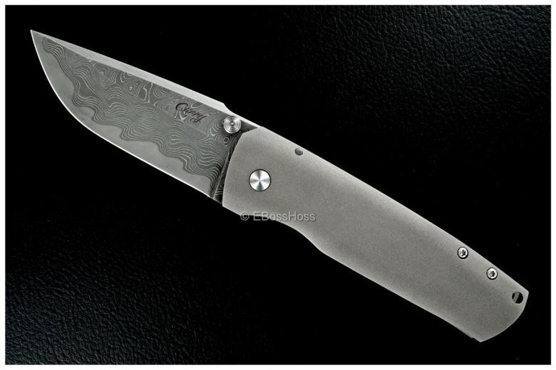 Tim Curry Custom XL Slim Framelock