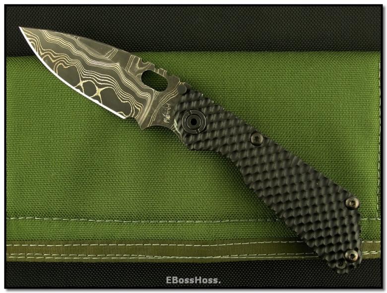 Mick Strider MSC Custom SnG Spearpoint - MSC Damascus