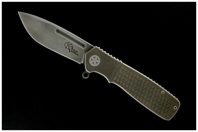 Ken Onion Custom Military Flipper