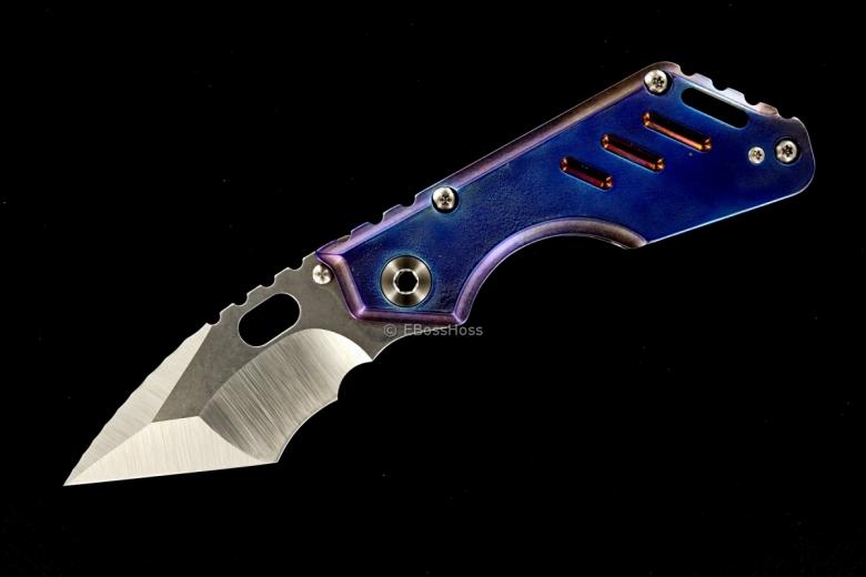 Mick Strider Custom (MSC) Stubby - Nightmare Tanto-grind