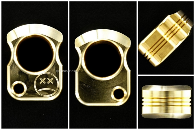 Andy Frankart One Inch Brass SFK with Racing Stripes