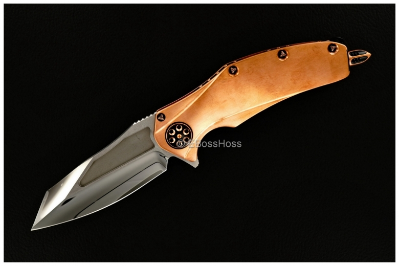 Anthony Marfione Custom Deluxe Copper Matrix Flipper
