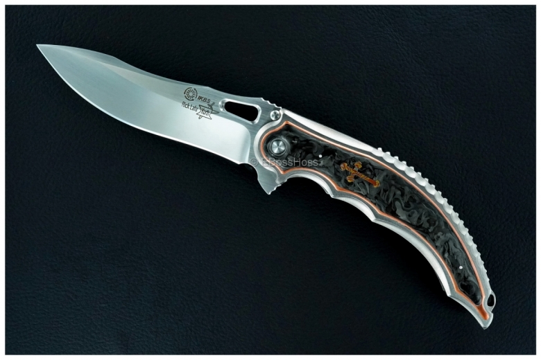 Korth Cutlery Custom Deluxe Reptile Flipper