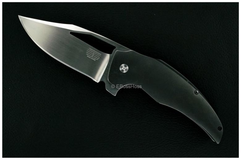 Tashi Bharucha Custom Zirc-Handle Stardust XLF Flipper