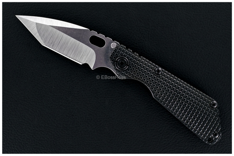 Mick Strider Custom Nightmare Tanto SnG Tanto w/Black Titanium FRAG Handles