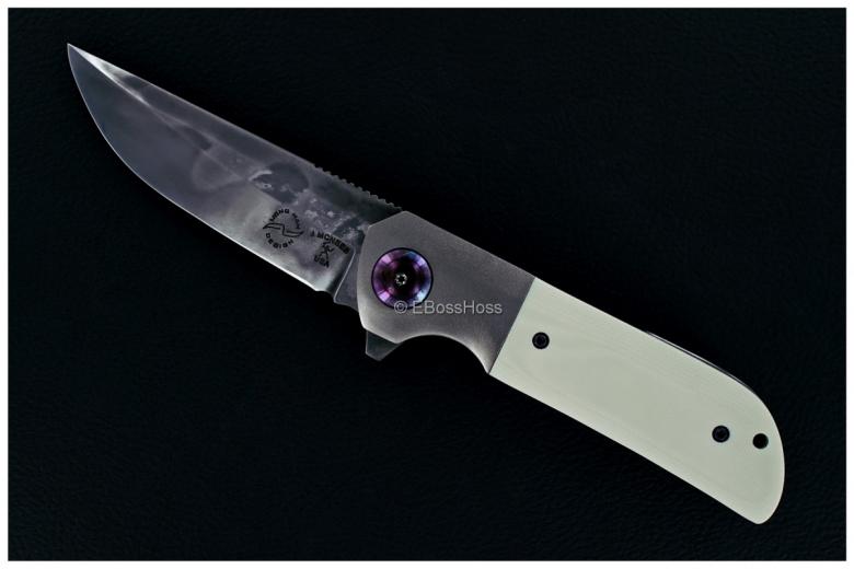 Jonathan McNees - Liong Mah Custom Warrior 1 Bolsterlock Flipper Collaboration