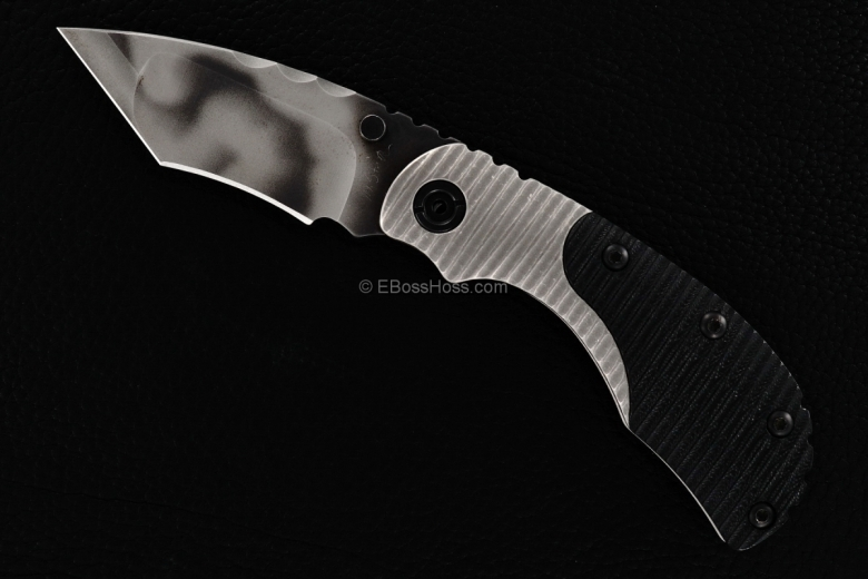 Mick Strider Custom (MSC) Bolstered Nightmare Recurve Tanto RCC Flicker