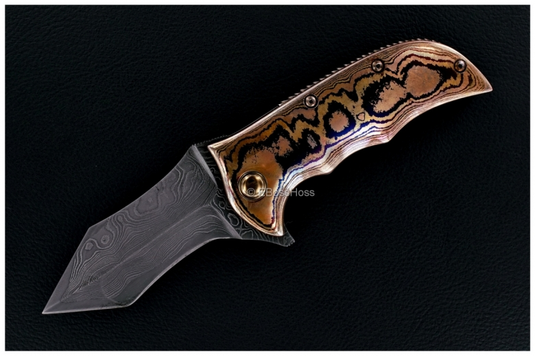 Alistair Bastian Knives Custom Taipan Flipper