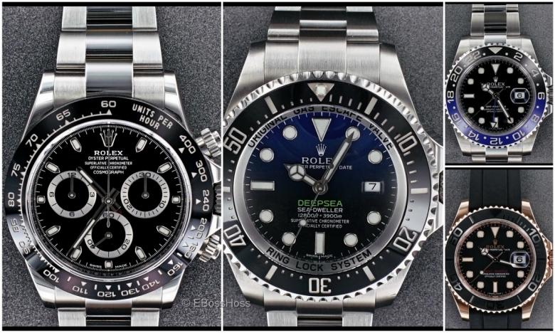 Rolex GMT Master II BLNR (Batman) & Rolex Ceramic Daytona (116500)