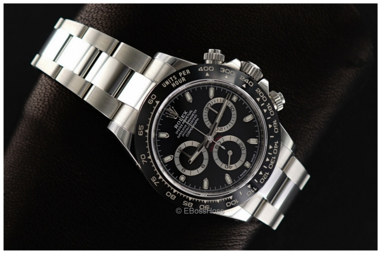 Rolex Ceramic Daytona Black Face - Mint