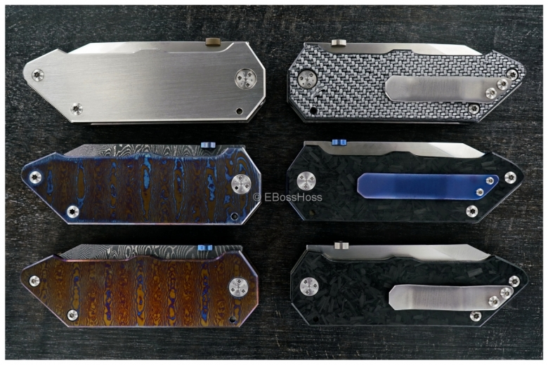 Jüergen Schanz - Set of 6 Custom SOB Folders (Schanz Over Built Folders)
