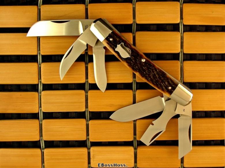 Tony Bose 6-Blade Congress Remington Bone